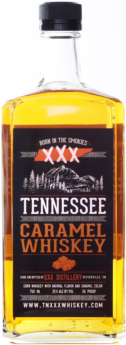 XXX Tennessee Caramel Flavored Whiskey