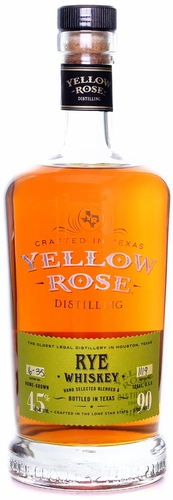 Yellow Rose Straight Rye Whiskey 750ML