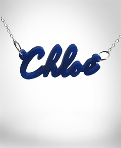 Acrylic name necklace ?Chloe?