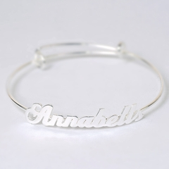 Adjustable Name Bangle