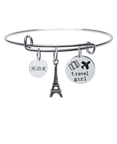 Travel Girl Charm Bracelet