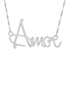 """Amor"" Necklace"
