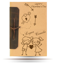 Antiqued Note book
