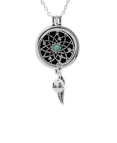 Aromatherapy Dream Catcher Necklace