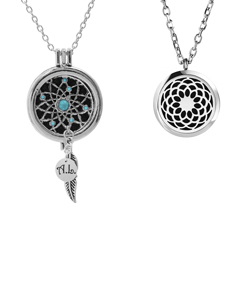 Aromatherapy Essential Oil Diffuser Necklace Set