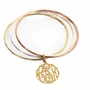 Trio Bangle Monogram