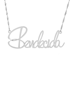 """Bendecida"" Necklace"