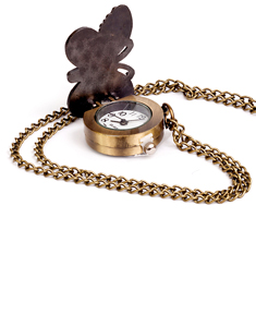 Butterfly Pocket Watch