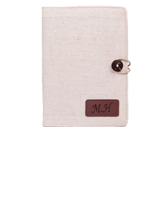 Cotton Linen Notebook