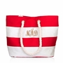 Canvas Water Resistant Beach Tote Bag