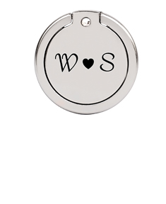 Cellphone Ring Holder with Couple's Initials