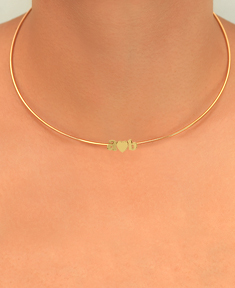 Choker with Initials