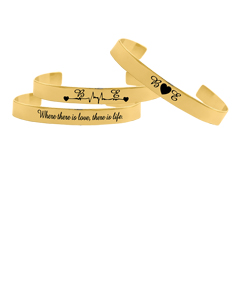 Couple Personalized Bangle