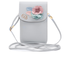 Cross-body Powder Blue Purse