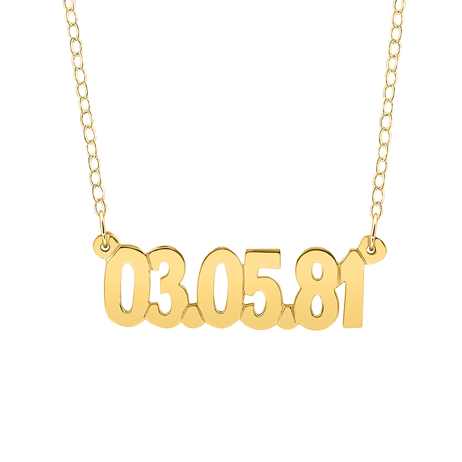 Dating gold jewellery