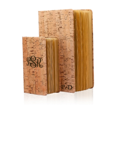 Eco Friendly Cork Journal Notebook Set