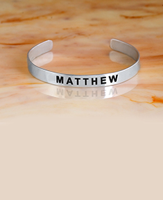 Engraved Name Bangle