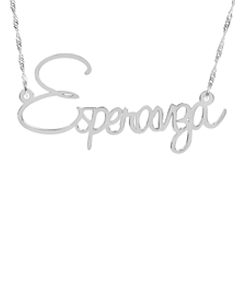 """Esperanza"" Necklace"