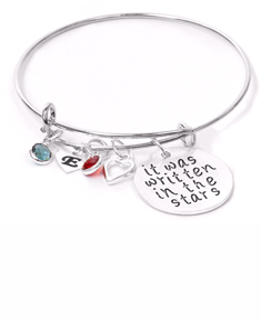 It Was Written In The Stars Bangle Bracelet