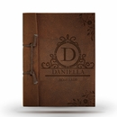 Boss Lady Antiqued Leather Note Book
