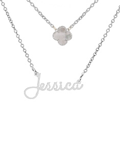 """""""Jessica"""" Necklace with Motif"""