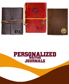 Leatherette & Leather Personalized Writing Journals