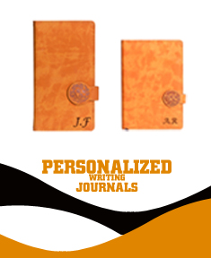 Leatherette & Leather Camel Writing Journals