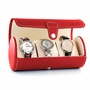 Leatherette Travel Watch Case