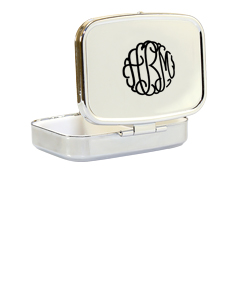 Monogram Compact Case with Compartments