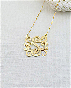 Monogram Pendant Fancy