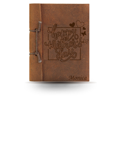 Mother's Day Brown Antiqued Note Book