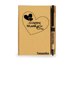 Mother's Day Note Book With Sticky Notes And Flags