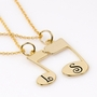 Musical Note Puzzle Pendant