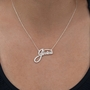 Name Plate Necklace JESSICA