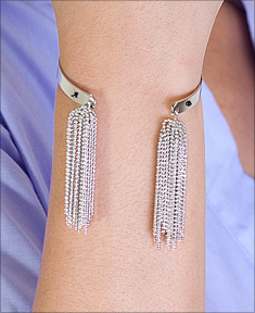Personalize Fringe Bangle