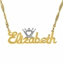 Personalized Crown Name Plate