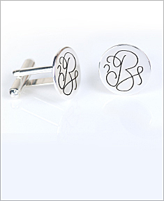 Personalized Engraved Cufflinks