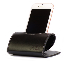 Personalized Leather Cellphone Holder