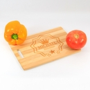Personalized Crown Cutting Board