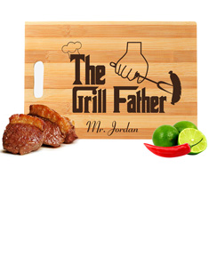 Personalized Message Engraved Cutting Board