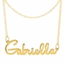 Personalized Name Choker Necklace