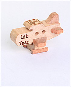 Personalized Wooden Plane