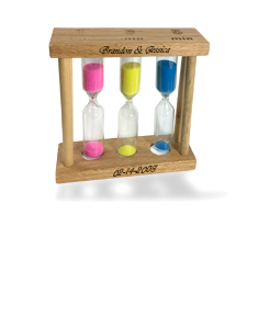 Personalized 1-3-5 minute Sand Timer