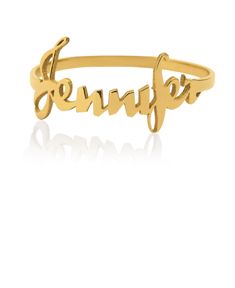Script Style Name Ring