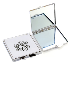 Slim Monogram Compact Cosmetic Mirror