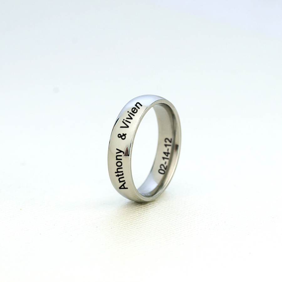 80 silver wedding band for him silver and gold