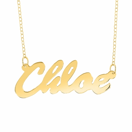"""Name Necklace """"Chloe"""""""