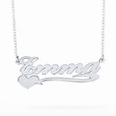 "Name Necklace ""Emma"""