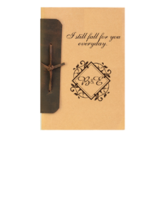 Two Initials Bound Notebook