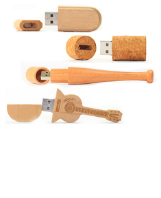 Wooden USB Memory Sticks